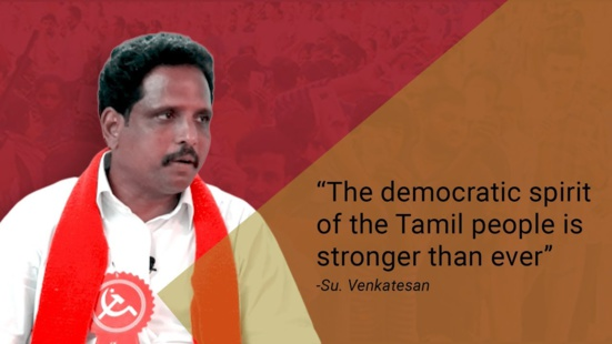 """A Madurai (Tamil Nadu), un écrivain """"rock star"""" fait revivre les communistes"""