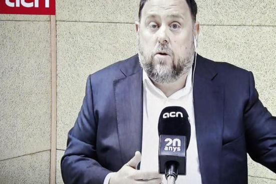 Oriol Junqueras juge «inévitable» l'indépendance de la Catalogne