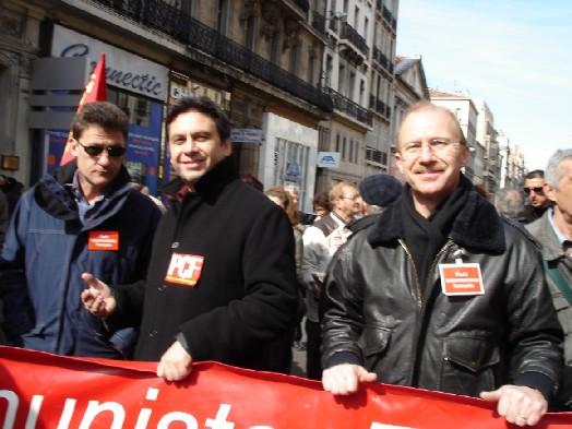 Jean Marc Coppola,secretaire de la fédération PCF 13