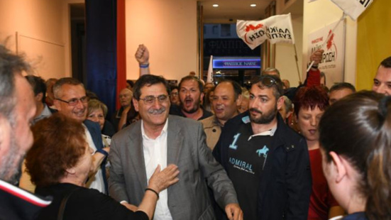 Kostas Peletidis (KKE) réélu maire de Patras avec 70,91% des voix