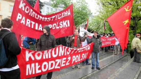 Appel à l'action contre l'interdiction du communisme en Pologne