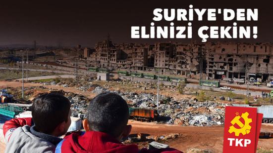 """""""Ne Touchez pas à la Syrie! """" (TKP)"""