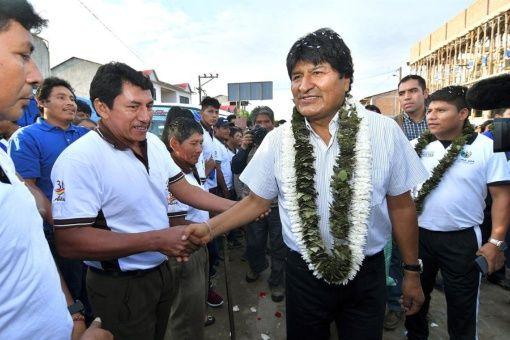 Bolivie : Evo Morales en tête des élections présidentielles avec 45,28% des voix