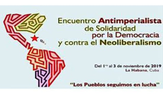 Déclaration finale de la Rencontre anti-impérialiste de solidarité, pour la démocratie et contre le néolibéralisme