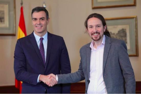 Que propose l'accord de gouvernement PSOE-Unidas Podemos ?