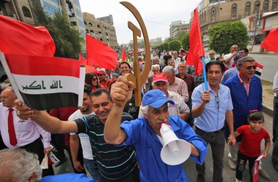 Les communistes irakiens reboostés grâces aux manifestations