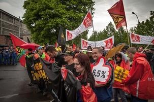 Allemagne : Grèves dans le secteur du métal