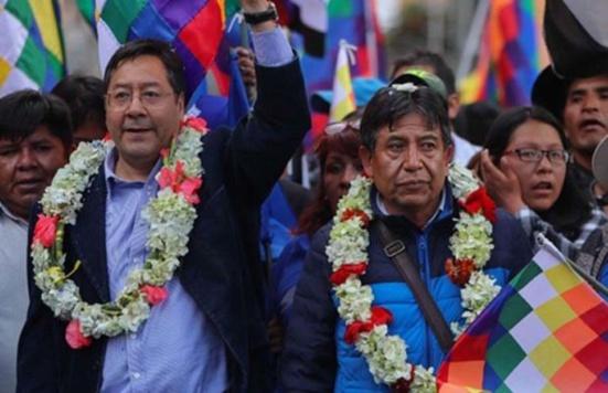 Bolivie : Luis Arce (MAS) en tête des intentions de vote