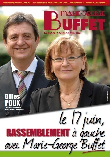 La candidate socialiste de la 4ème circo du 93 appelle à l'abstention... Réaction de Marie-Georges Buffet!
