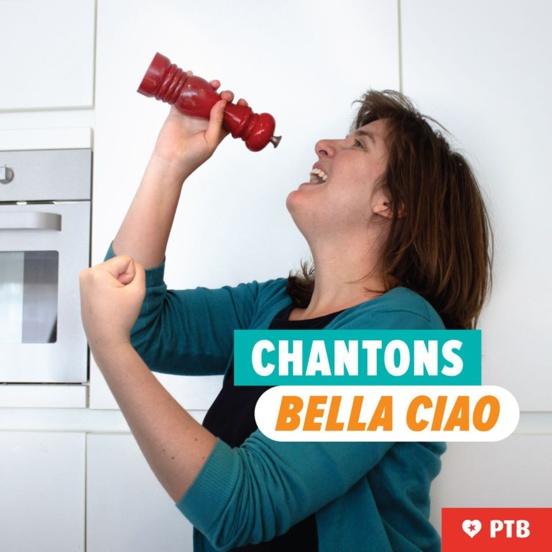 Le PTB-PVDA lance le #bellaciaochallenge pour le 1er Mai