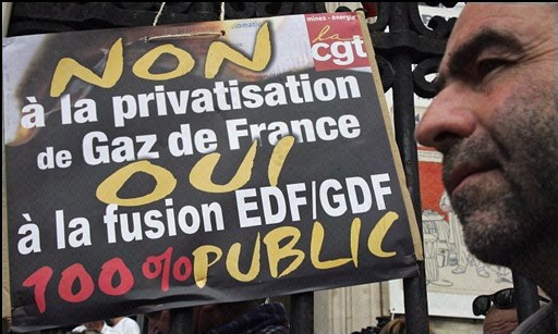 Privatisation de GDF