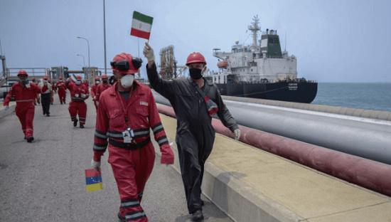 Un quatrième pétrolier iranien entre dans les eaux territoriales du Venezuela