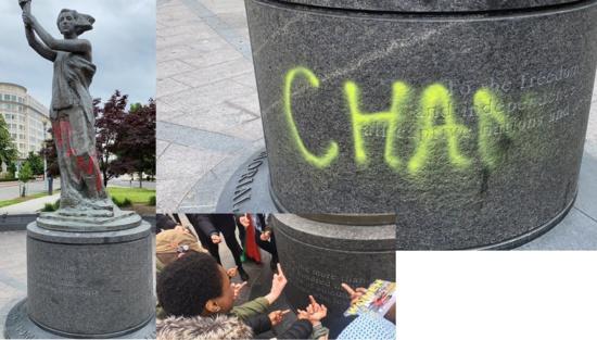 Le Mémorial des victimes du communisme à Washington a été vandalisé