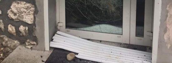 Vandalisme et tentative d'intrusion dans les locaux du PCF Savoie