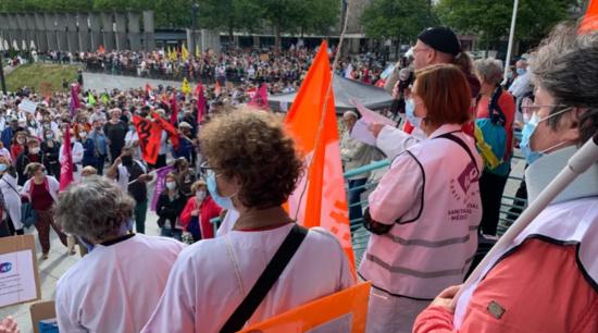 La Préfecture du Finistère s'en prend aux organisateurs de la manifestation pour l'hôpital à Brest