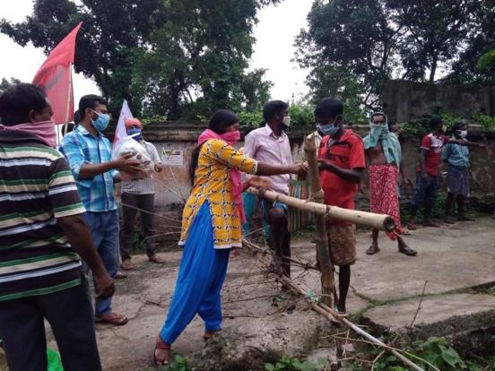 CPI(M) propose des volontaires pour lutter contre le Covid-19 au Bengale occidental