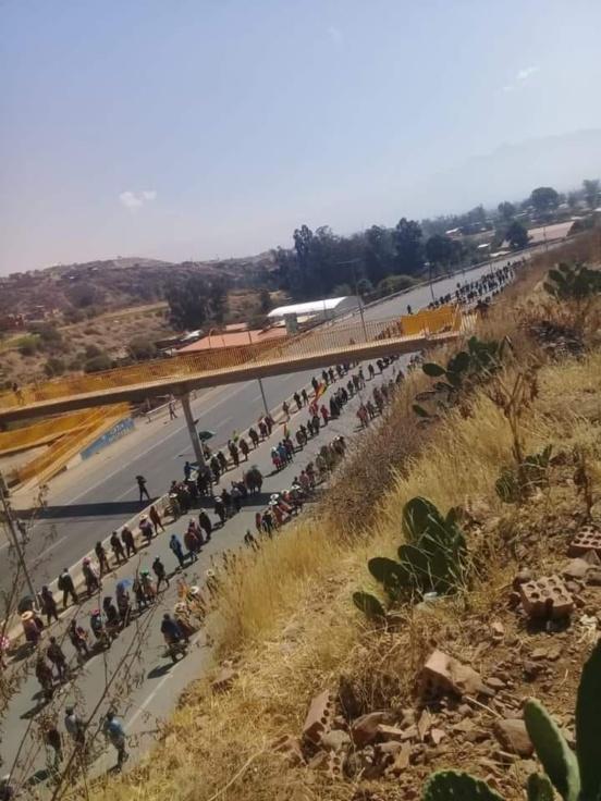 """COB/Bolivie : """"Nous ne reculerons pas d'un millimètre dans notre lutte pour la démission d'Añez"""""""