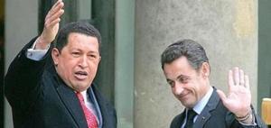 La France renoue avec le Venezuela de Chavez