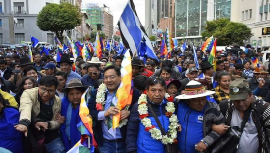 La justice bolivienne refuse d'interdire au MAS-IPSP de participer aux élections