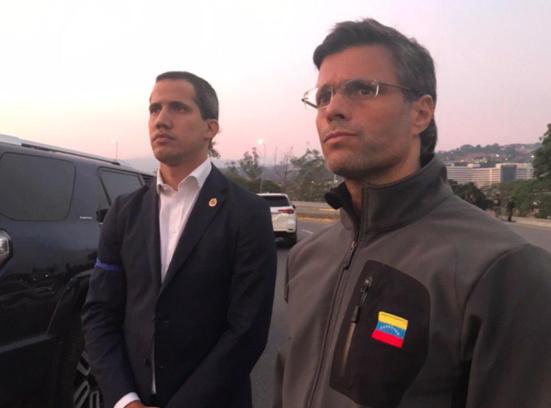 Le fasciste vénézuélien Leopoldo López trouve refuge en Espagne