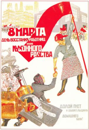 L'origine communiste de la Journée internationale du droit des femmes