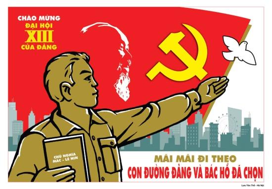 1587 délégués assisteront au XIIIème Congrès du Parti Communiste du Viêt Nam