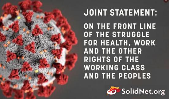 Les Partis communistes sont en première ligne pour la santé et les droits de la classe ouvrière mondiale