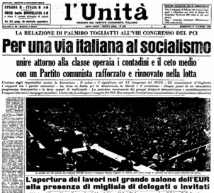 Palmiro Togliatti et la voie italienne au socialisme