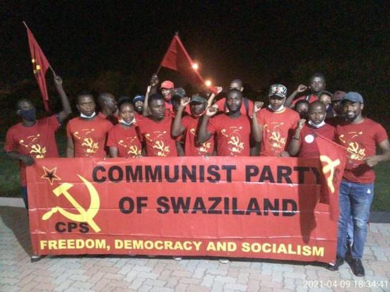 Les communistes du Swaziland (CPS) lancent un appel aux communistes du monde pour intensifier la lutte pour la démocratie et la liberté