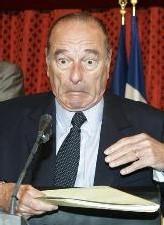 Allocution de Jacques Chirac