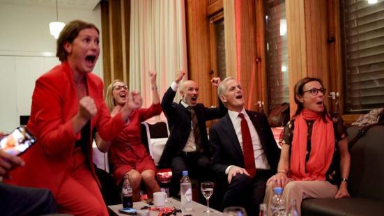 Percée des Rouges (Rødt) aux élections législatives en Norvège