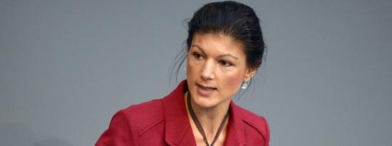 Sahra Wagenknecht (Die Linke) appelle à la dissolution de l'euro