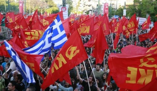 Le KKE quitte le groupe de la GUE-NGL au parlement européen