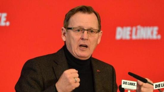 Die Linke dirige le Land de Thuringe !