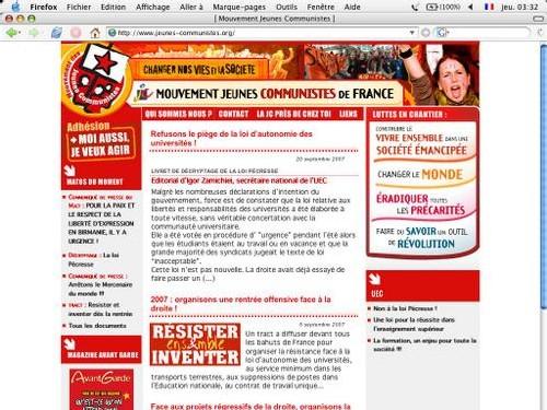Un nouveau site web national pour la JC