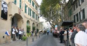 La ville d'Istres rend hommage à Felix Gouin