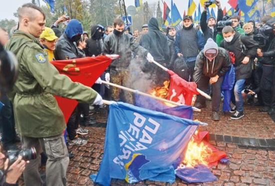 Des dizaines de communistes ukrainiens arrêtés !