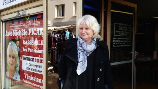 Municipale partielle à Vénissieux 1er tour : Michèle Picard (PCF) en tête