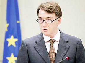 Peter Mandelson, un fidèle laquais du patronat