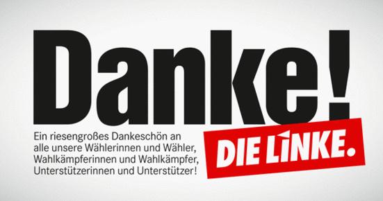 9,3% pour Die Linke aux élections législatives locales à Brême