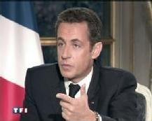 Réaction aux déclarations de Nicolas Sarkozy