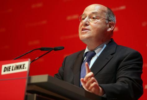 Figure historique de Die Linke, Gregor Gysi annonce son retrait