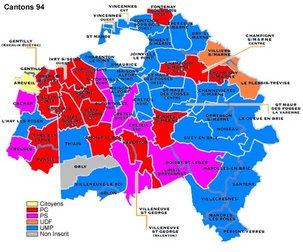 Cantonales: Ensemble, faire échec à la droite dans le Val de Marne