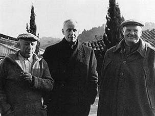 Pablo Picasso, Louis Aragon et Maurice Thorez