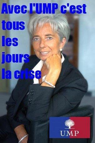 Lagarde : 'Souriez ! La crise s'aggrave'