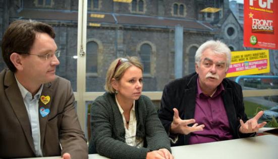 André Chassaigne et Cécile Cukierman, deux parlementaires PCF qui gênent EELV et le PG