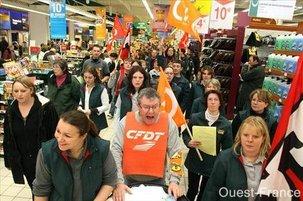 Grève dans la grande distribution : le patronat doit passer à la caisse