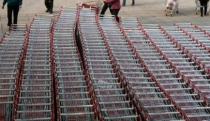 Les salariés de la grande distribution en lutte