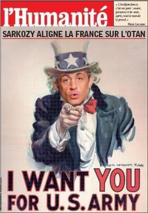Opérations militaires de la France : Sarkozy l'américain !