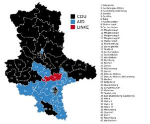 Percée de l'extrême droite (AfD) en Saxe-Anhalt, Bade-Wurtemberg et Rhénanie-Palatinat